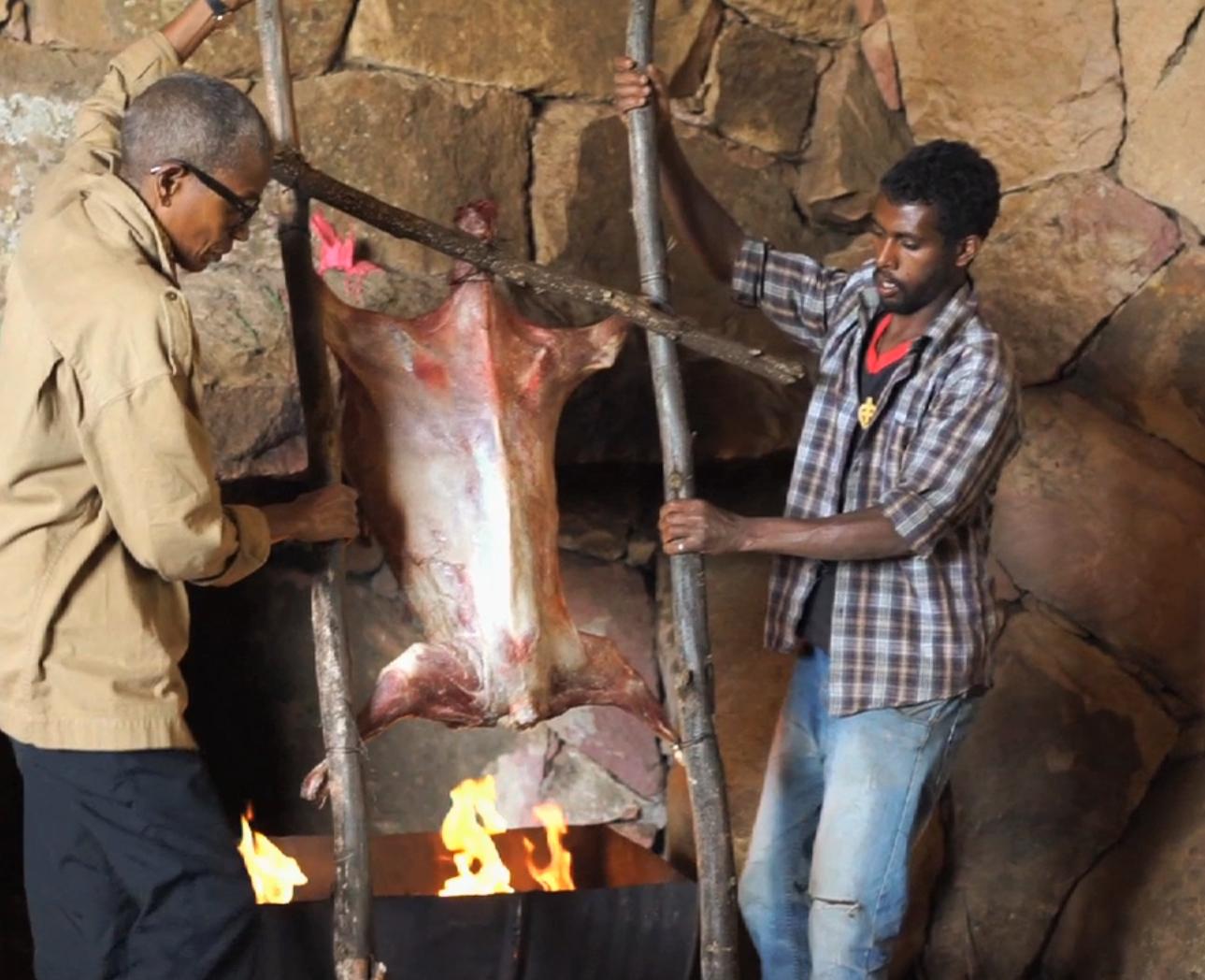 Le méchoui éthiopien