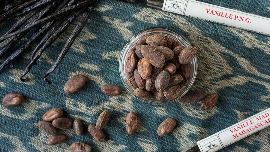 Vanille et cacao