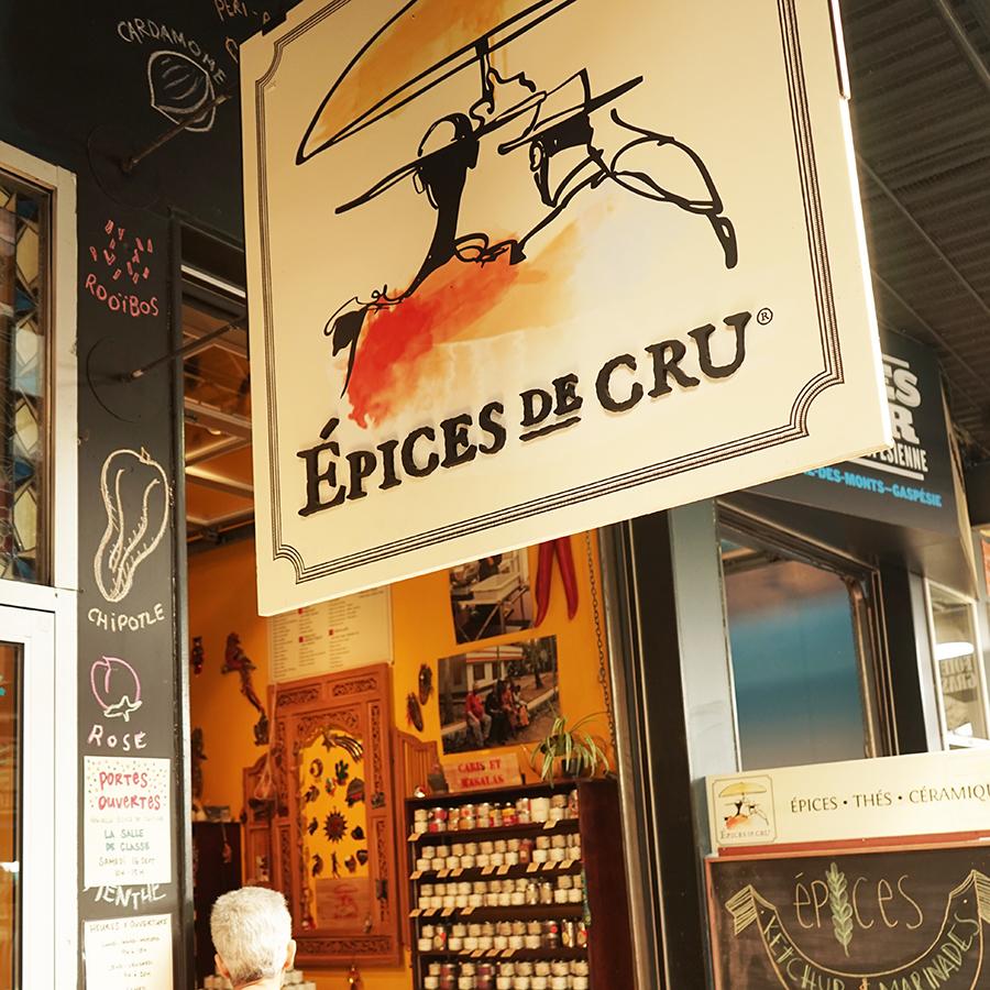 Boutique Epices De Cru