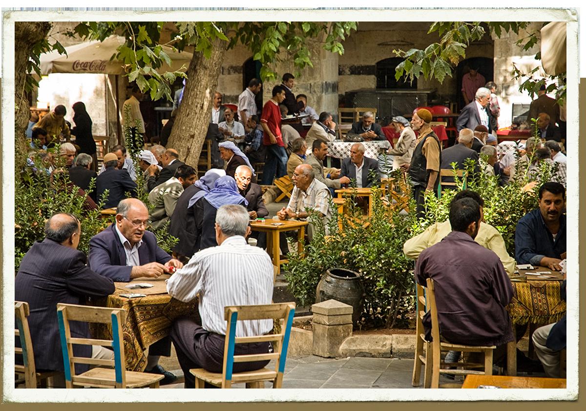 Carte Postale : Le café d'Urfa