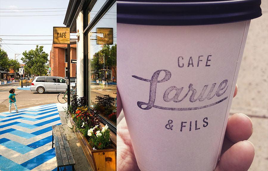 Café Larue - 5 endroits où manger à 5 minutes du marché Jean-Talon