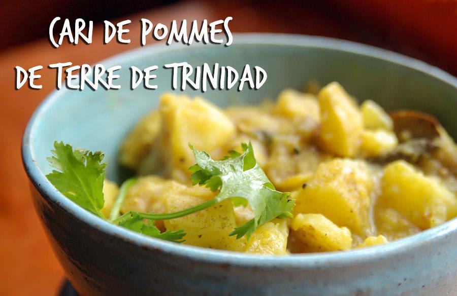 Cari De Pommes De Terre Trinidad
