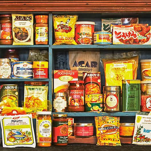 Saveurs et goûts: les routes du cari