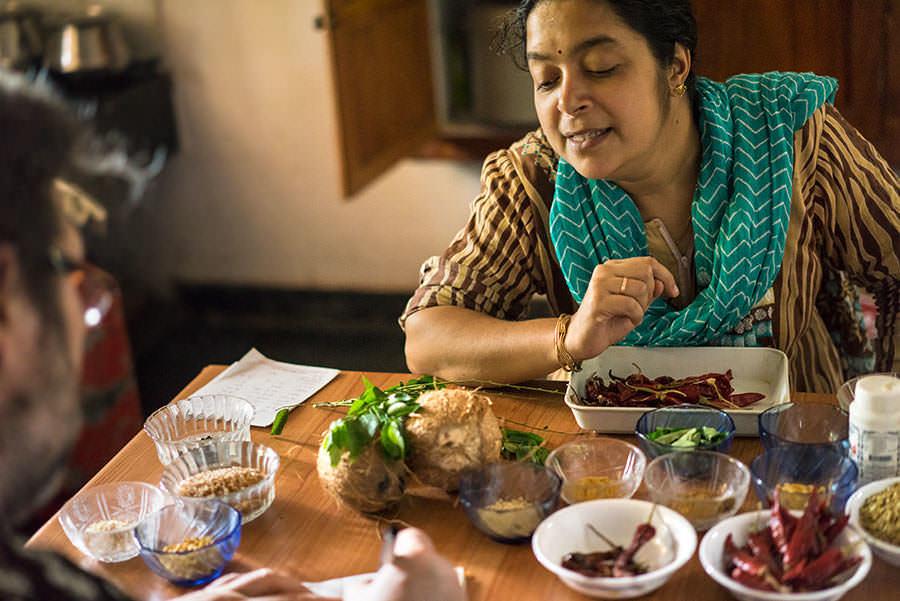 Cuisine Du Kerala - Saveurs et goûts: l'Inde du sud