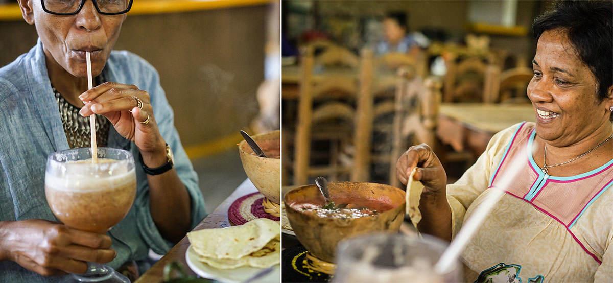 Ethne et Deepa - Les Sri Lankais, la cannelle et Oaxaca