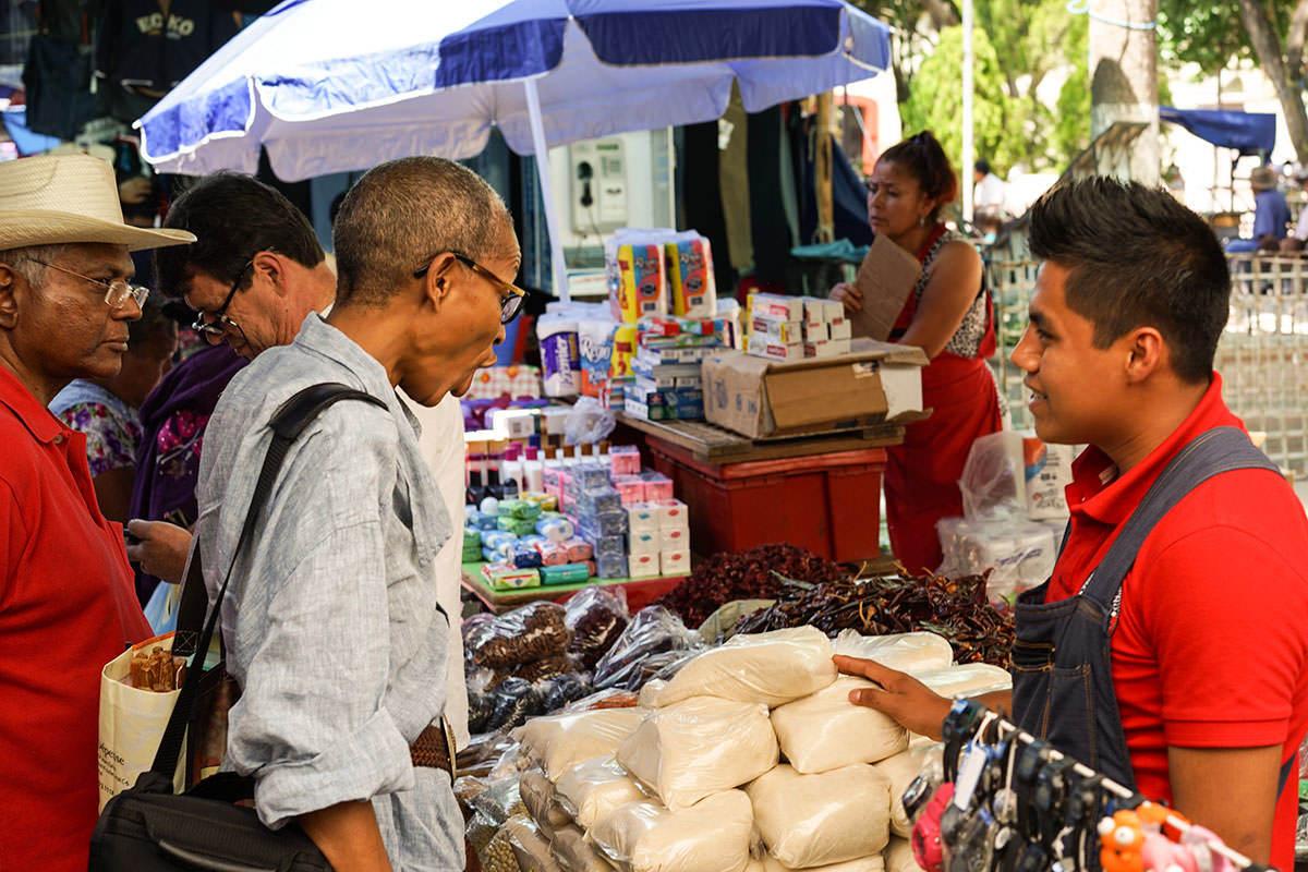 Marché Oaxaca - Les Sri Lankais, la cannelle et Oaxaca
