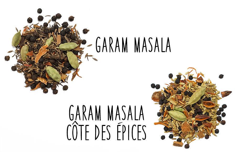 Garam Masala Et Cote Des Epices