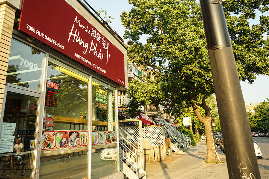 Hung - 5 endroits où manger à 5 minutes du marché Jean-Talon