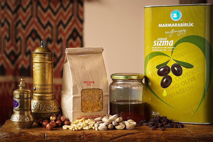 Ingredients De Base De La Cuisine Turque