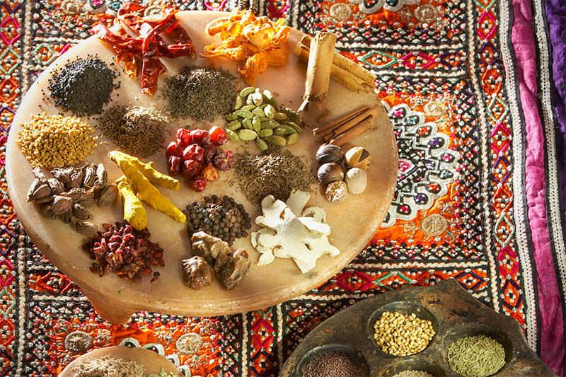 Saveurs et goûts : l'Inde du nord