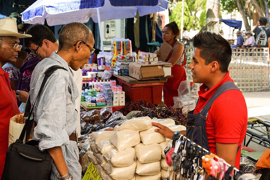 Marché - Saveurs et goûts: Oaxaca