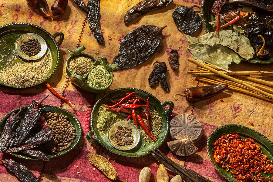 Saveurs et goûts: Oaxaca