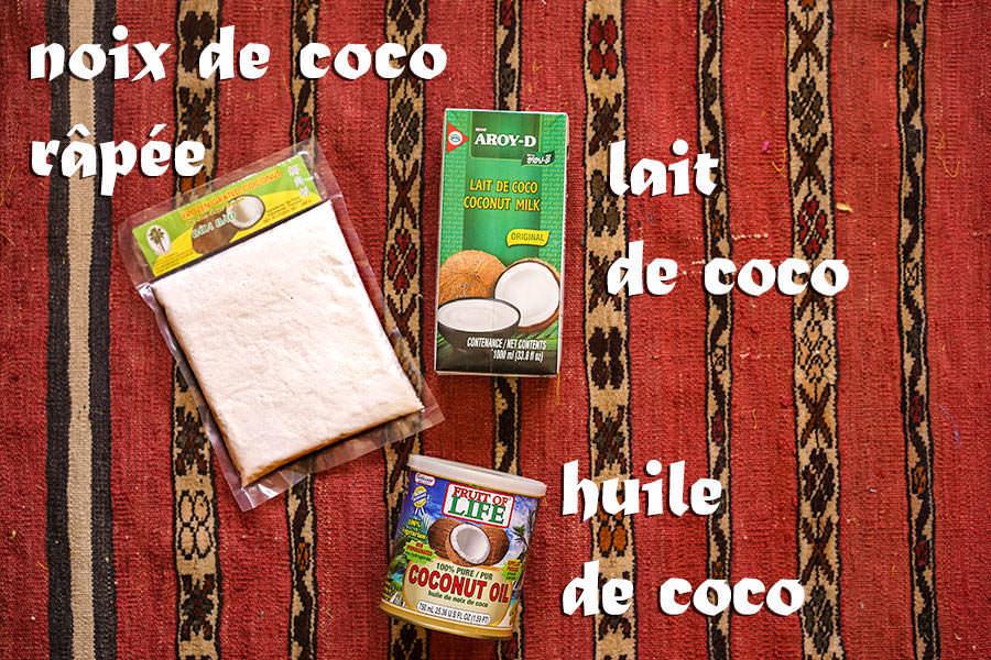 Produits De Noix De Coco