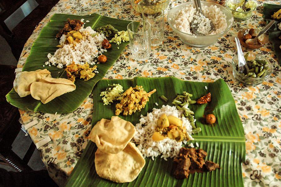 Thali - Saveurs et goûts: l'Inde du sud