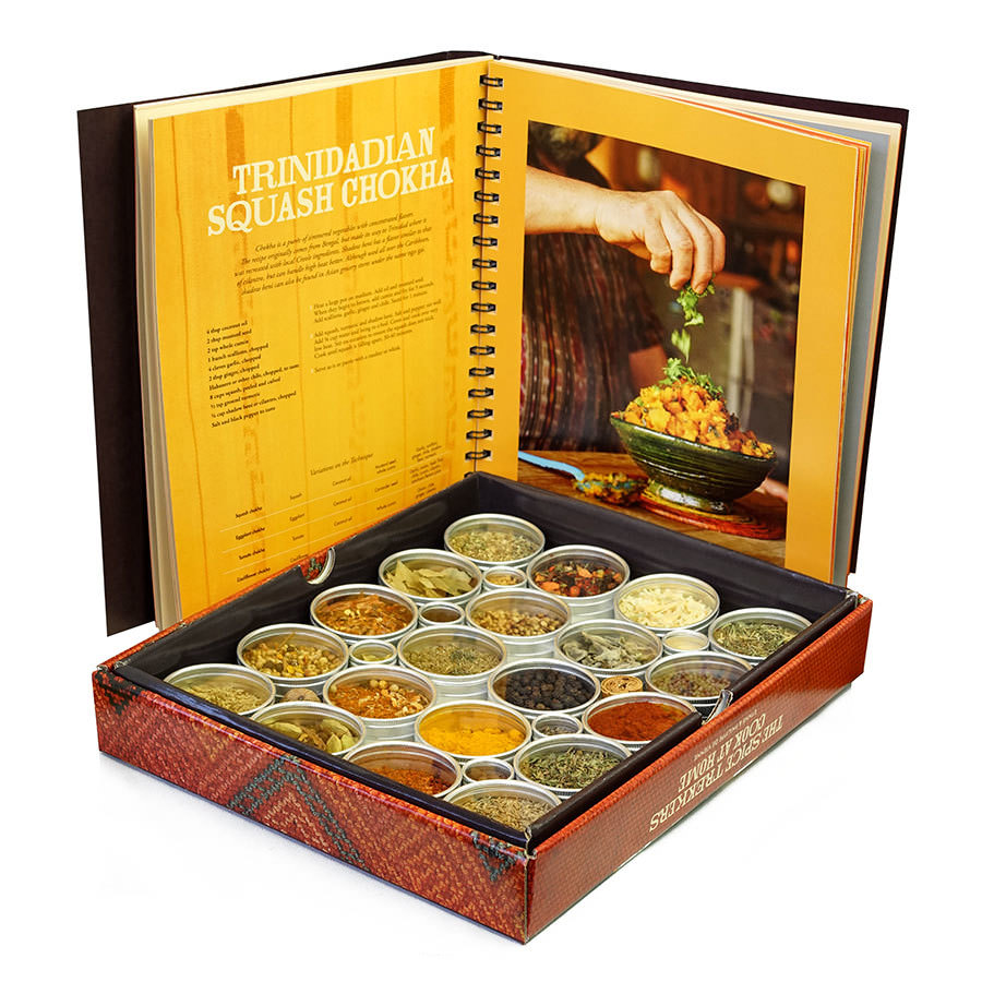 The Spice Trekkers Cook at Home - Book