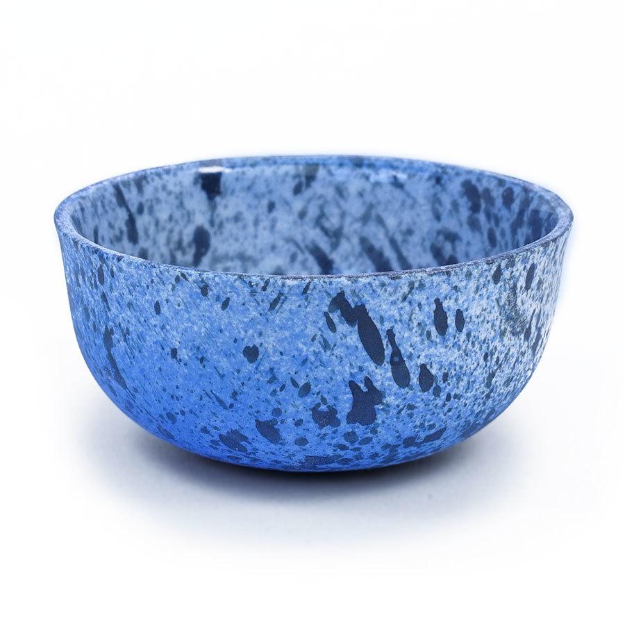 Verre à thé IO bleu corail