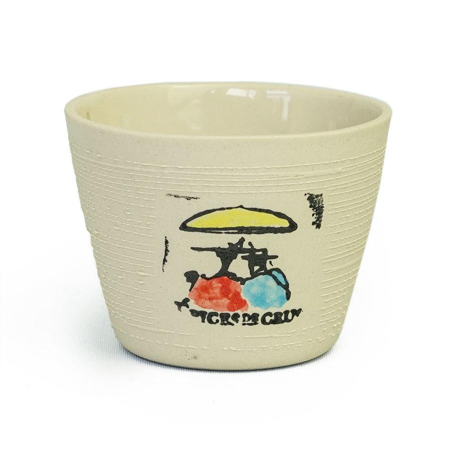 Verre à thé Liten Épices de cru – crème