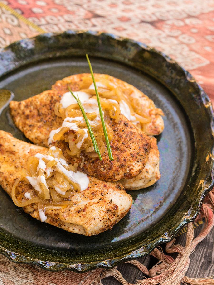 Cajun Chicken Escalope