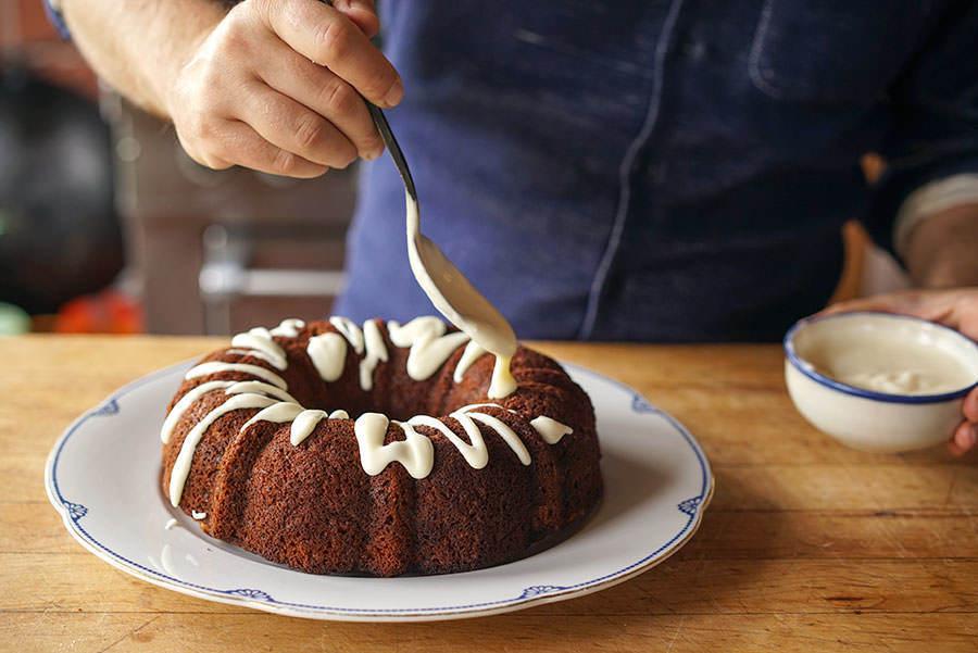 Cake Aux Pommes Et Aux Épices