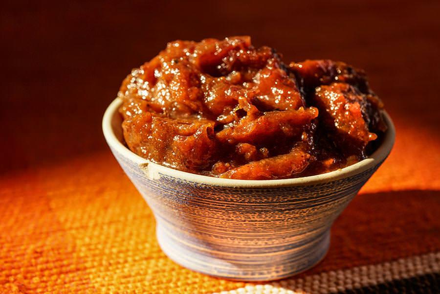Chutney de tomates au panch phoran