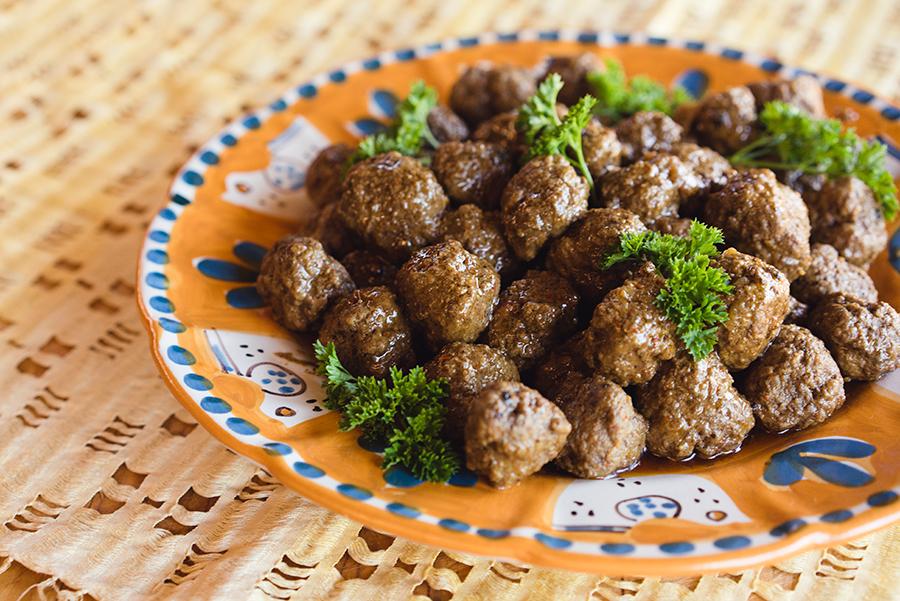 Mini-boulettes d'agneau aux épices à couscous