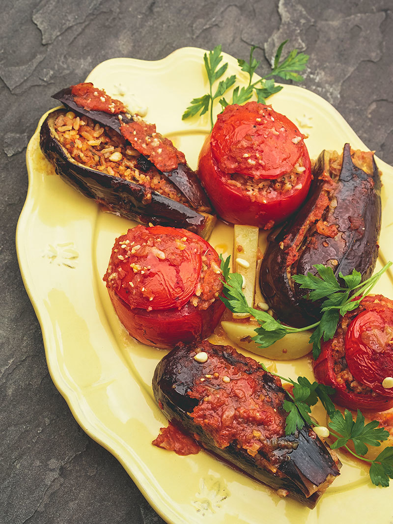 Gemista - Légumes grecs farcis
