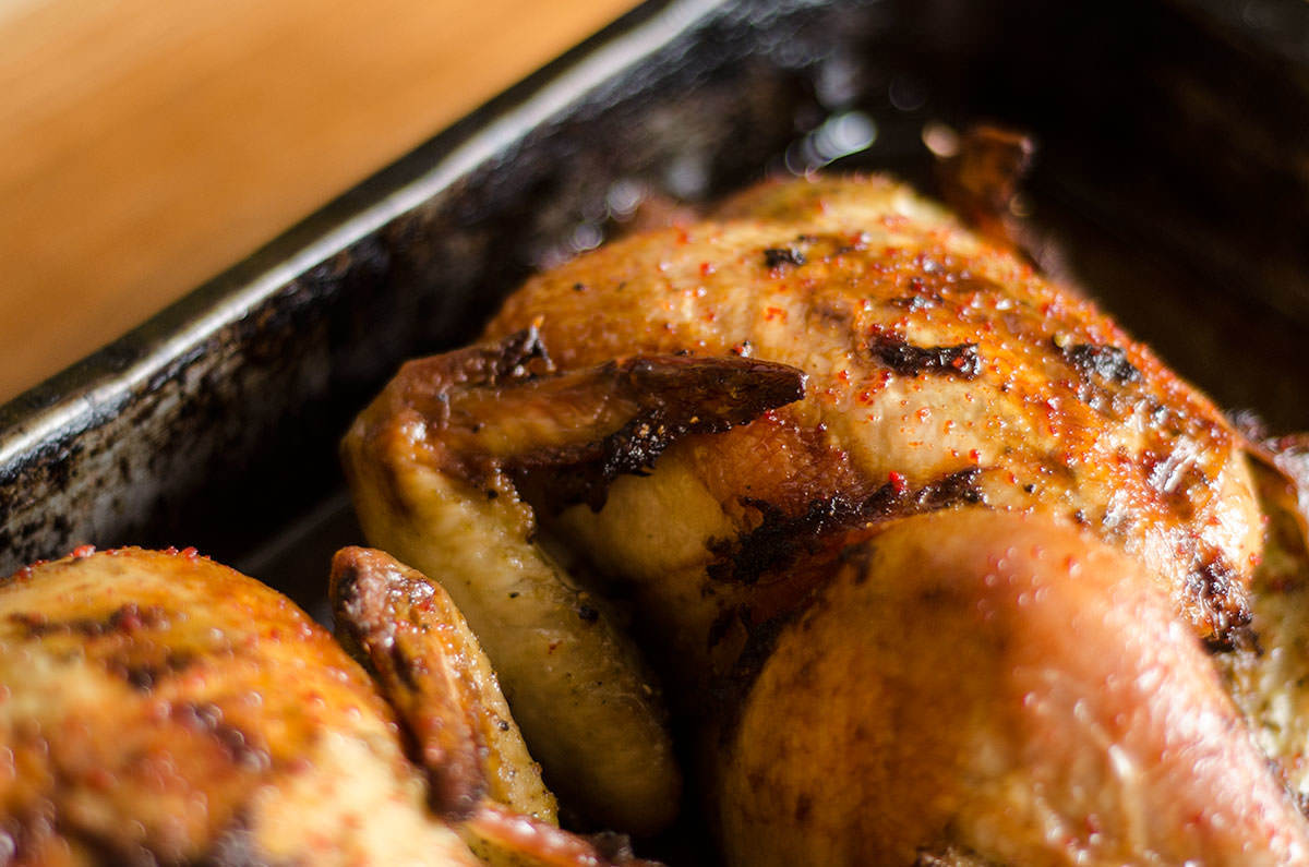 Poulet issan