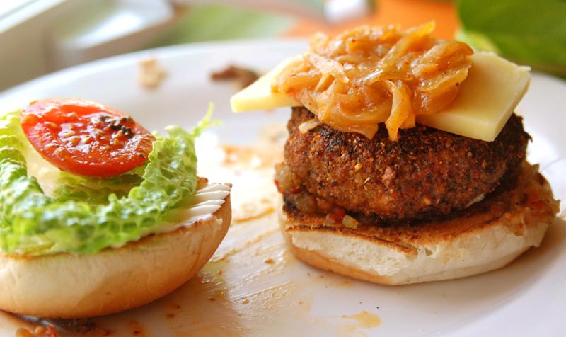 Hamburgers épicés de Guillaume