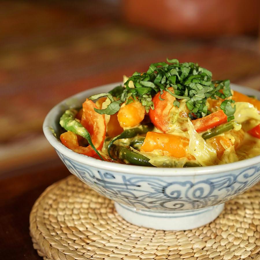 Gulai de légumes