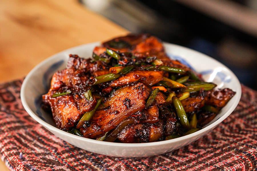 Hui Guo Rou – Porc cuit deux fois