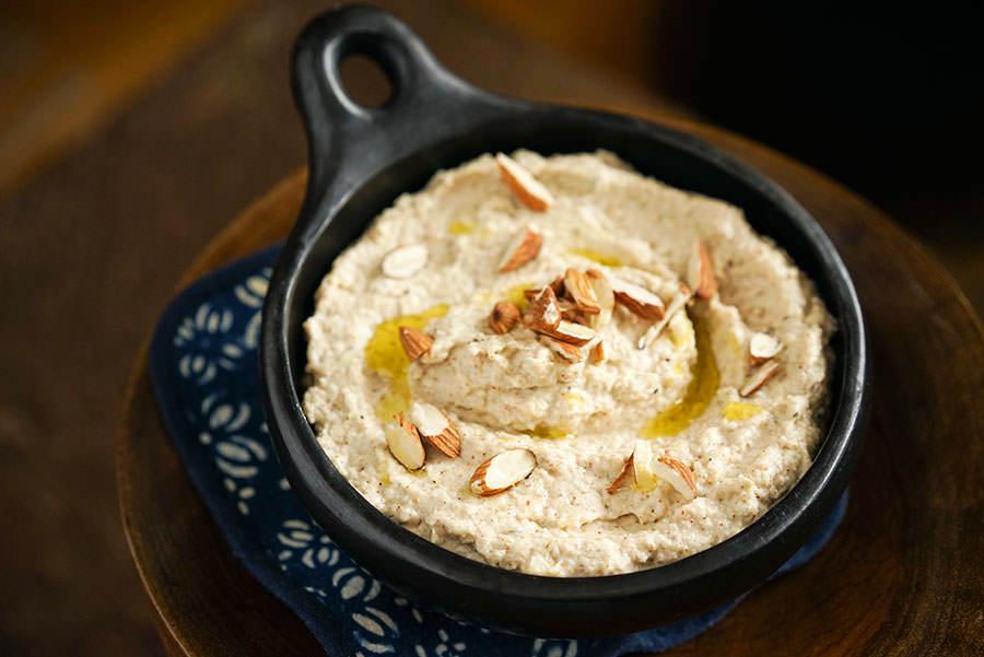 Hummus De Panais Et Amandes