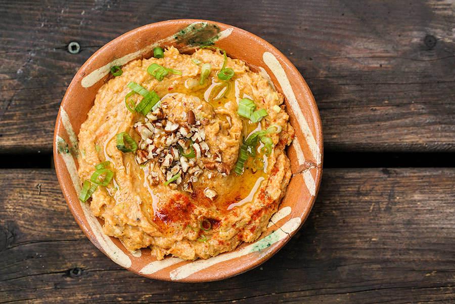 Hummus De Patates Douces Et Pacanes