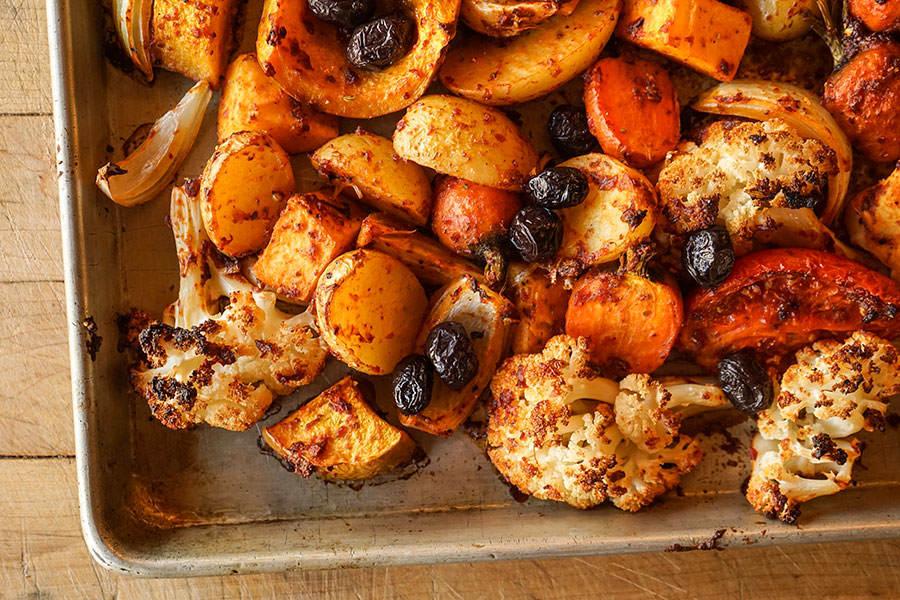Légumes rôtis aux épices à kabsa