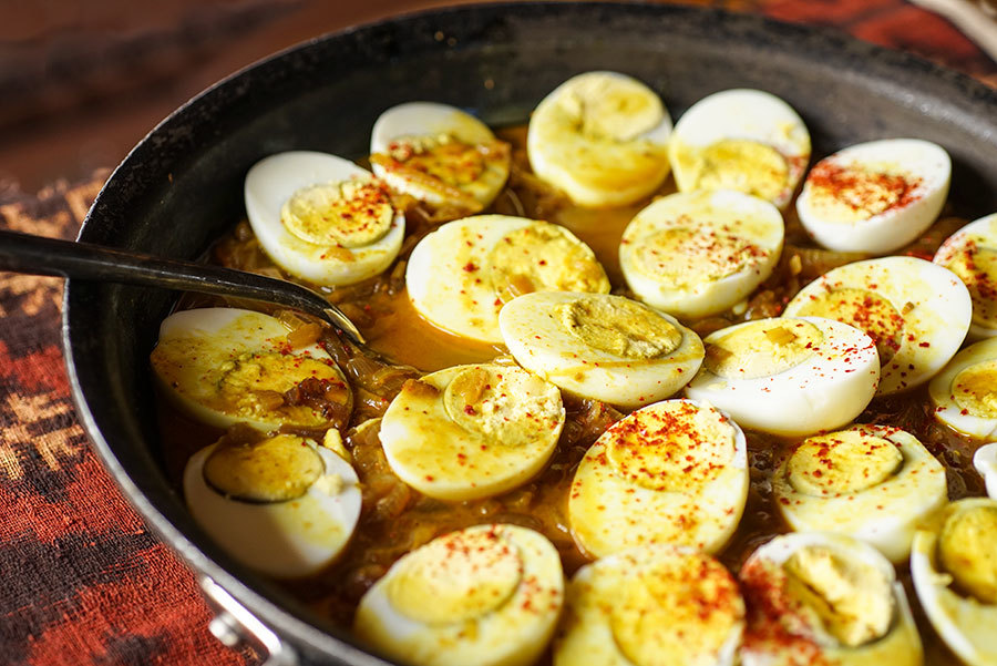 Egg Roast du Kerala
