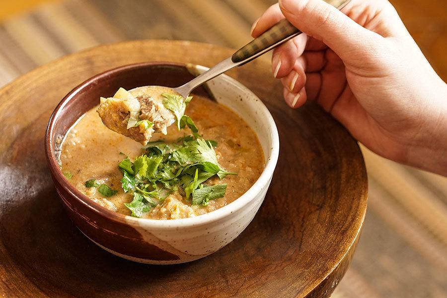 Kharcho (soupe géorgienne au boeuf)