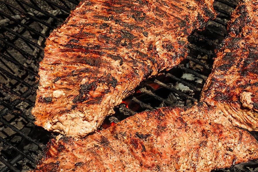 Bavette de bœuf à la libanaise