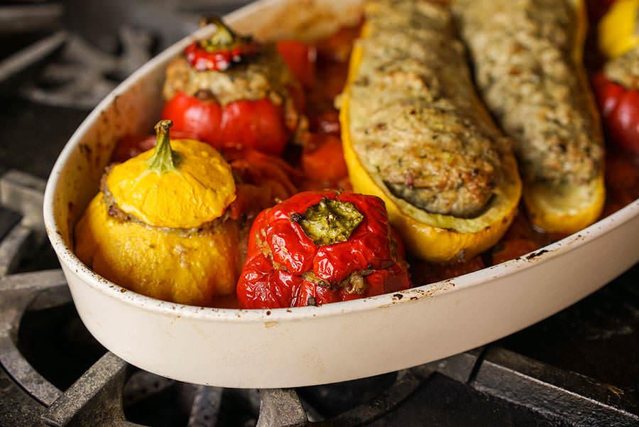 Légumes farcis Petite Italie