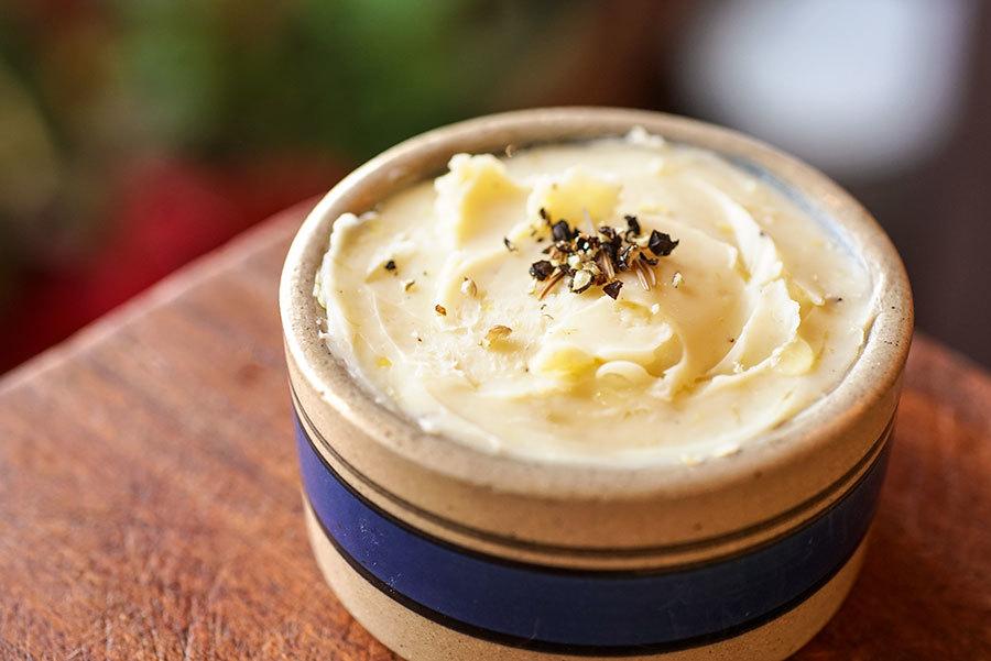 Beurre poivre et citron