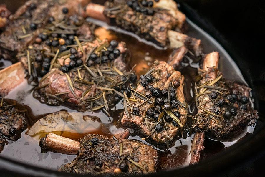 Peposo - Boeuf braisé au poivre