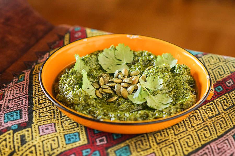 Pesto Style Mexicain