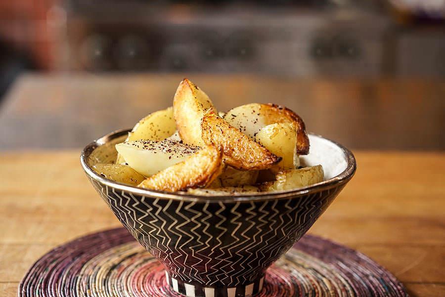 Pommes de terre rôties au sumac