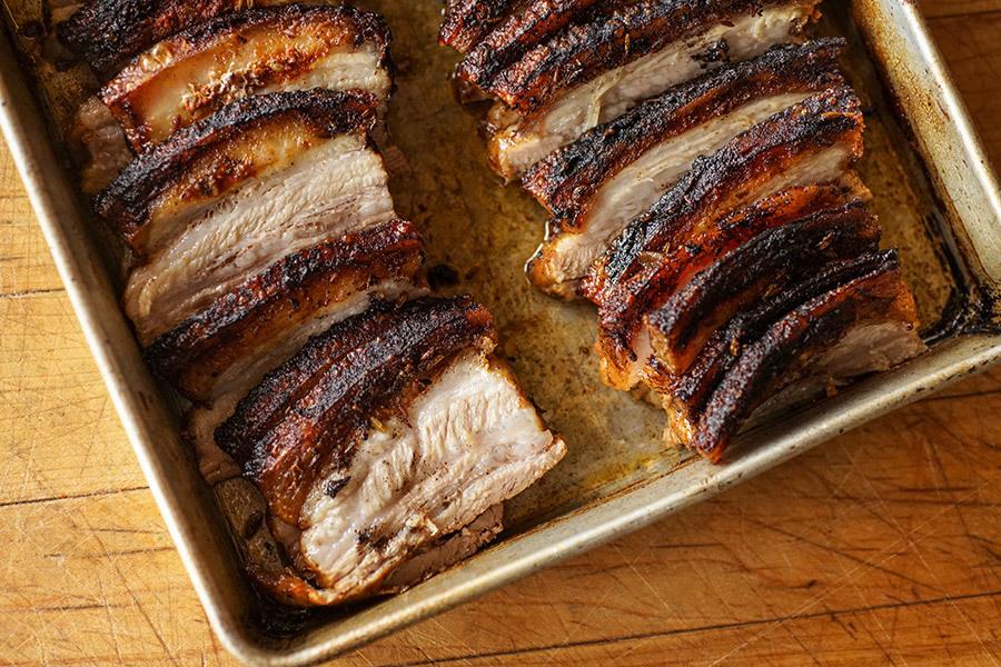 Flanc de porc au paprika fumé