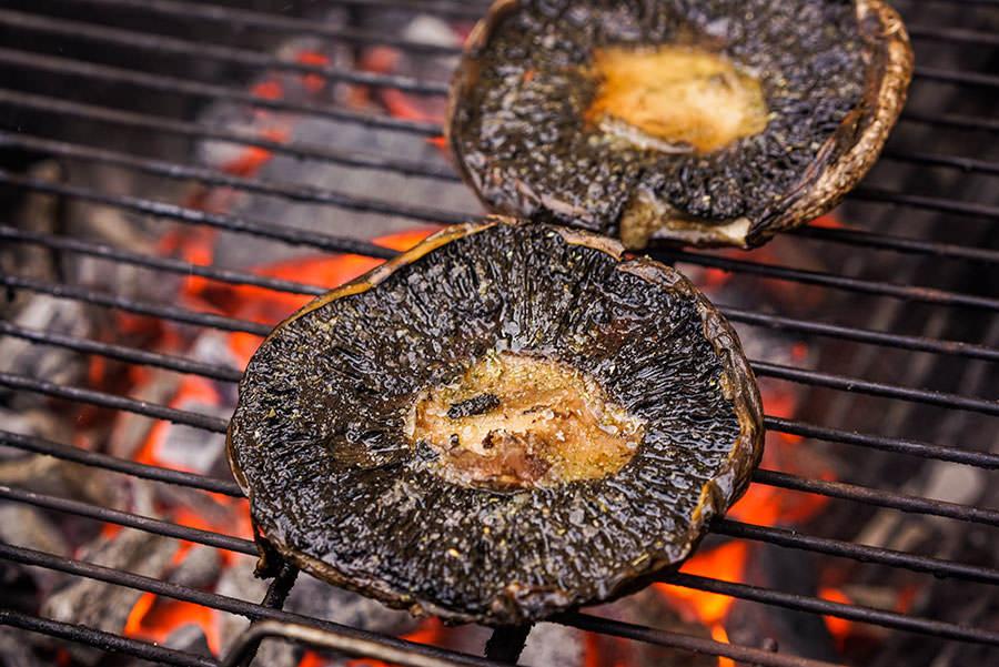 Portobellos grillés au rub classique