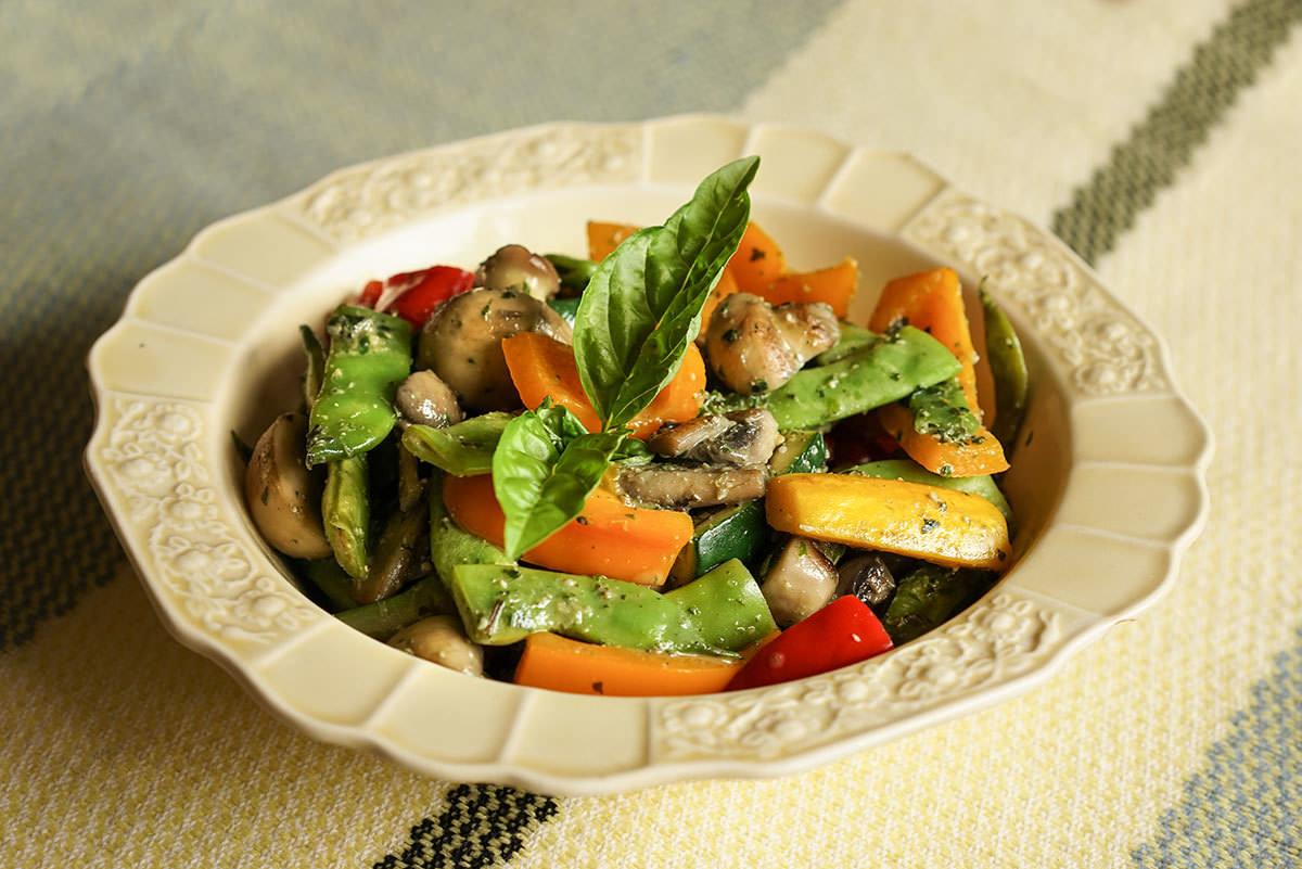 Sauté provençal de légumes