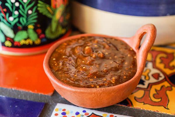 Salsa de pasilla de Oaxaca de Celiflor