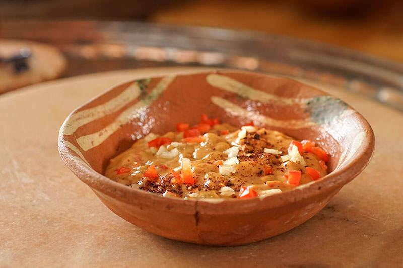 Sauce au fromage et pasilla de Oaxaca