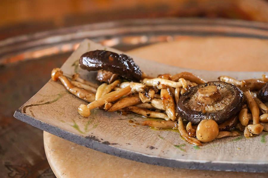 Shimeji Yuzu-yaki - Papillotes de champignons japonais au yuzu