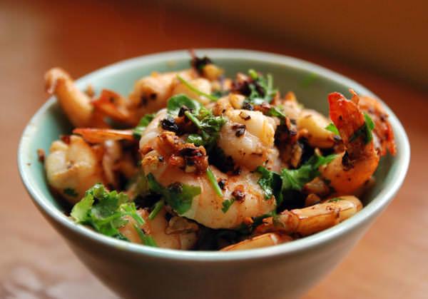 Crevettes au Pasilla de Oaxaca