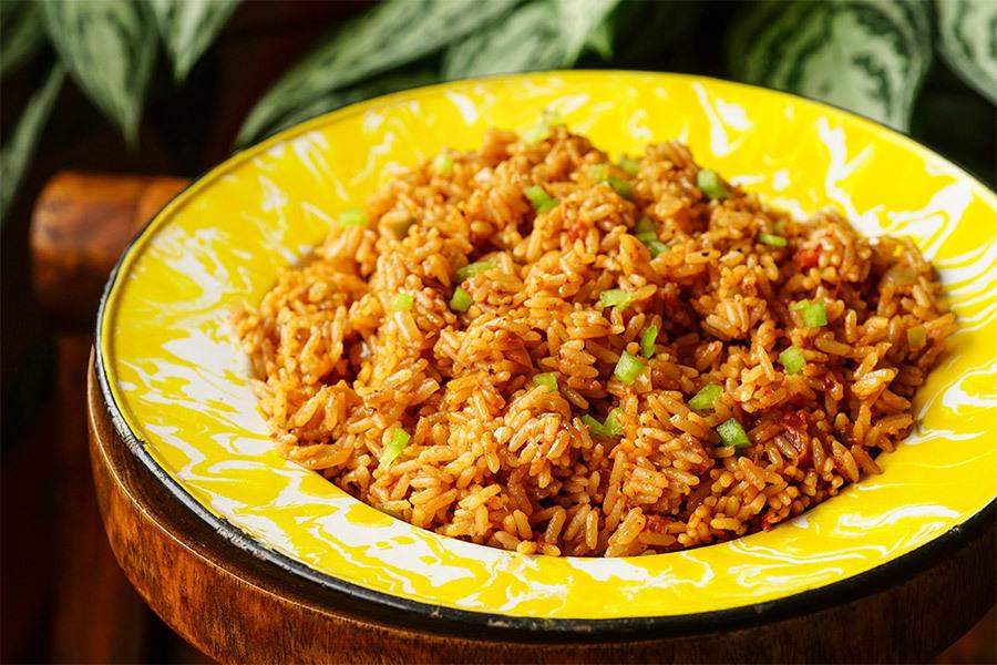 Spanish Rice - Riz à la tomate à l'américaine