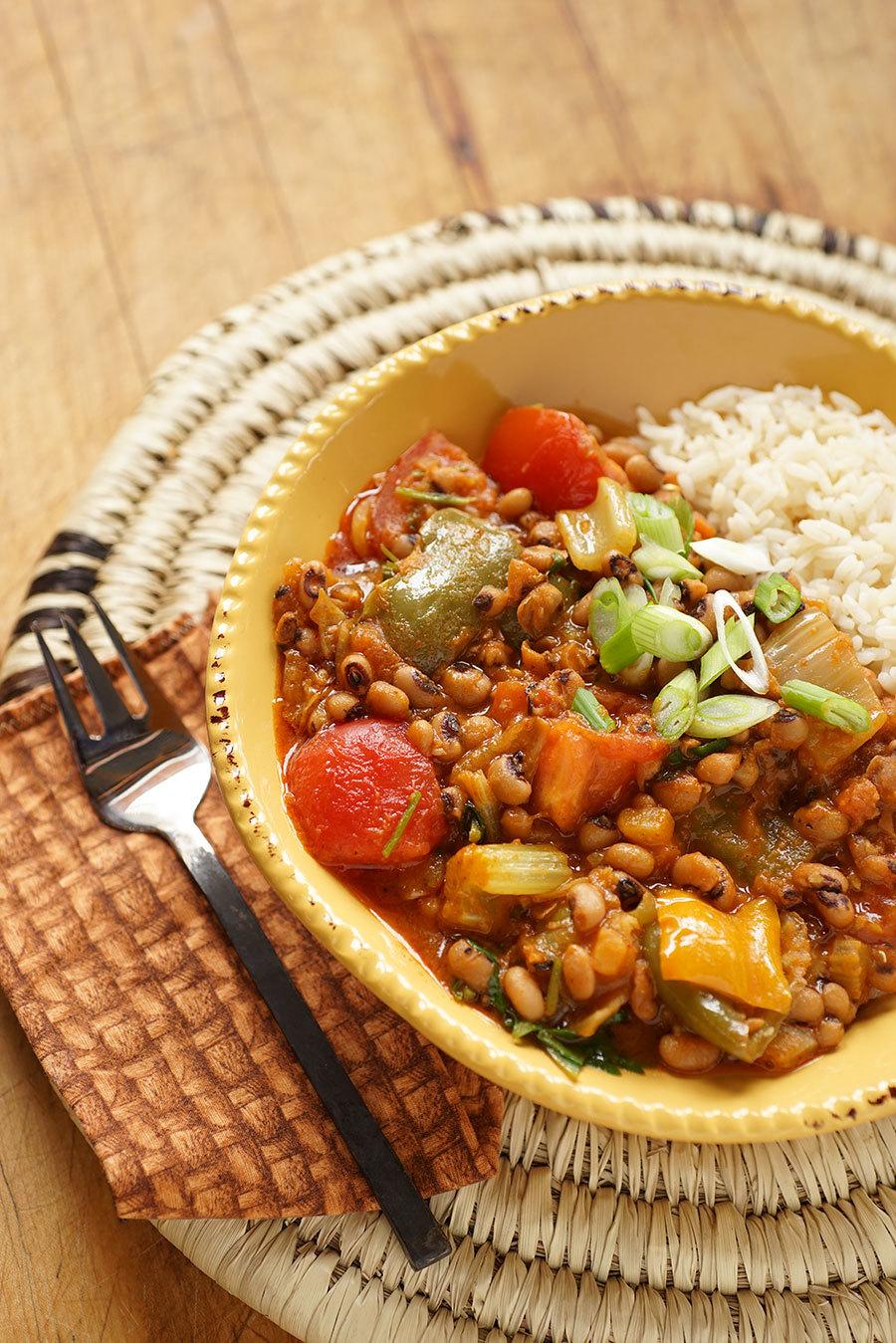 Ragoût de haricots et légumes à la cajun